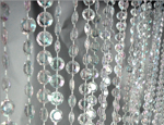 9 jewel beaded curtain