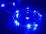 blue led fairy wire light -waterproof