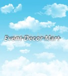 blue sky - clouds photography backdrop