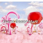candy land photography backdrop 10 x 10