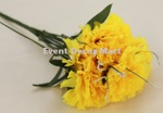 carnation x 7 yellow