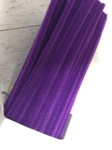 chenille purple 100pc