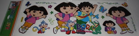 dora magic stickers 71 23 sheet