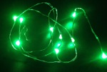 green led fairy wire light -waterproof