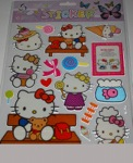 hello kitty friends  stickers 10 sheet