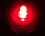 led submersible red lights pk 12