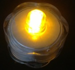 led submersible yellow lights pk 12