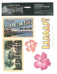 luau decals 10 sheet