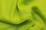 sheer voile lime green 5x18