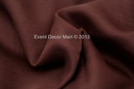sheer voile panel - burgundy 5x18